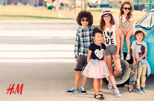 thuong hieu thoi trang tre em H&M Kids