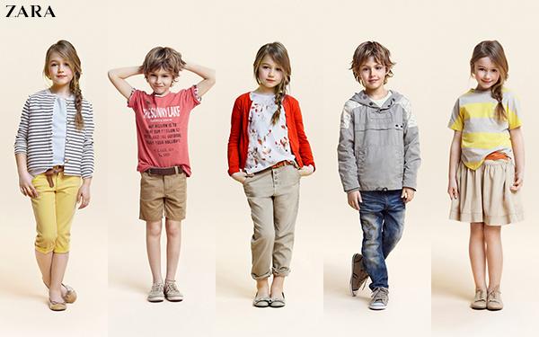 thuong hieu thoi trang tre em Zara Kids