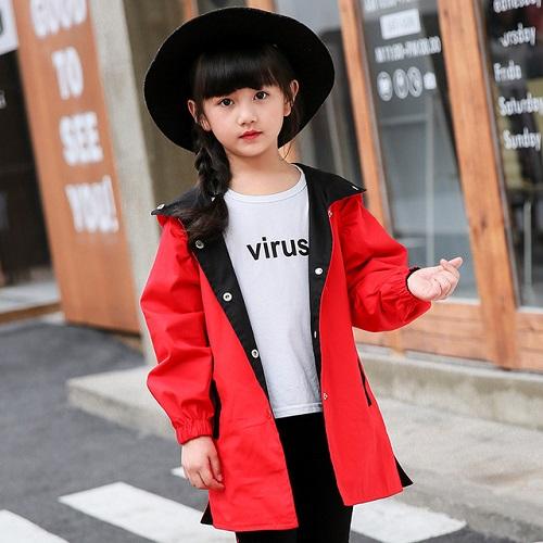 Quần Áo Bé Gái 12 Tuổi Bừng Sáng Với Màu Đỏ Làm Chủ Đạo