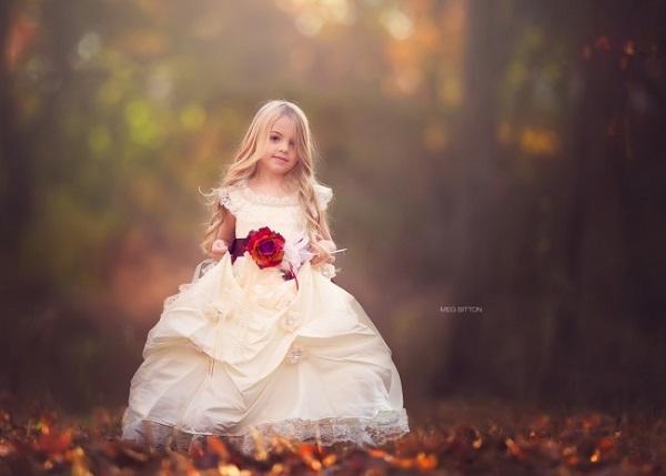 Trở Thành Nàng Công Chúa Thật Sự Khi Diện Đầm Công Chúa Cho Bé gái