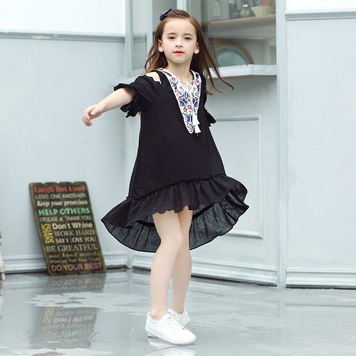 Áo Đầm Bé Gái 12 Tuổi Xinh Xắn Để Dạo Phố, Đi Học, Đi Chơi