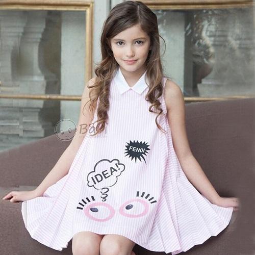 Cập Nhật Xu Hướng Váy Bé Gái Xinh Xắn, Cá Tính Và Hợp Thời Trang