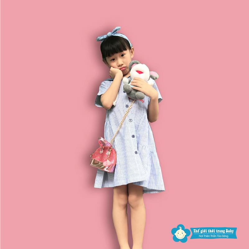 Đầm Sơ Mi Cho Bé Gái 12 Tuổi – Vẻ Đẹp Chào Hè Nữ Tính Và Dịu Dàng